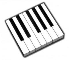 6277 Накладки клавиатуры кремовые с фронтами