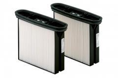 Фильтровальные кассеты Metabo, 2 шт. полиэстер