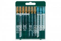 Набор пилок для лобзика Metabo 10 шт (623599000)