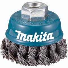 Чашечная щетка c витой проволки 60 мм Makita