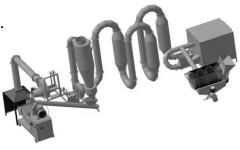 Equipment for production of fuel briquettes