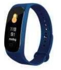 Фитнес браслет в стиле Xiaomi Mi Band 5 Синий
