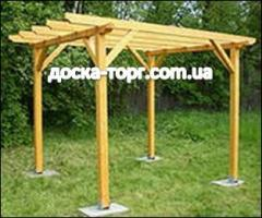 Pergolas at the good prices, and in big