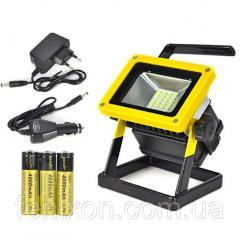 Светодиодный прожектор аккумуляторный X-Balog 204