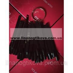 Типсы на кольце - черные (50 шт)
