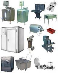 Set of the equipment for children's milk