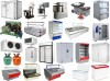 Refrigerating appliances for cafe, restaurants