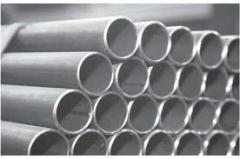 Seamless hot formed pipes