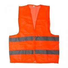Жилет сигнальный оранжевый XL (60*70см), 60 гр/м2