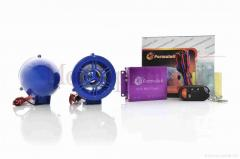 Аудиосистема 2.0 MP3 (USB/SD), пульт, сигнализация