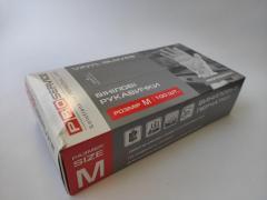 Перчатки виниловые Proservice размер М /100 шт