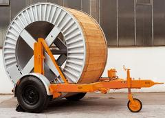 Equipment for transportation of cable, sale,
