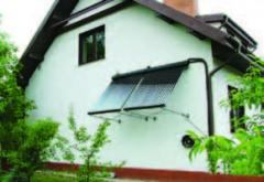 Heliosystems for hot water supply and heating of