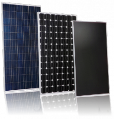Photo-electric modules for solar power plants