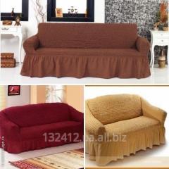 Чехлы на диваны и кресла, размер универсальный