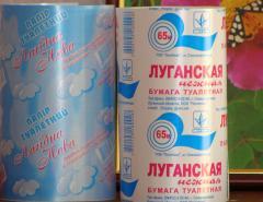 Продукция печатная, Этикетка для туалетной бумаги
