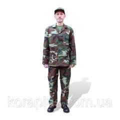 Костюм камуфлированный рабочий (рис НАТО)
