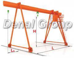 Crane of goa
