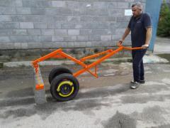 Захват-транспортёр для дорожного бордюра  плит
