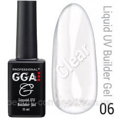 Жидкий гель Liquid Builder Gel GGA Professional 06
