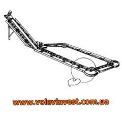 Системы навозоудаления Транспортёр скребковый навозоуборочный ТСНВ-1