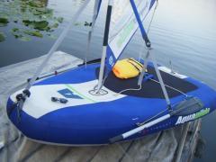 Парусная надувная лодка