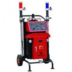 Equipment for a DP-FA50 polyurethane foam dusting