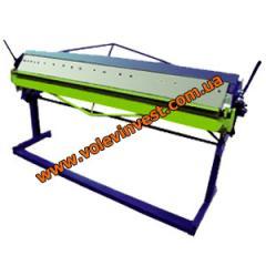 Sheet bending machine manual GM1250