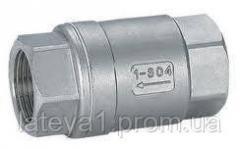 Клапан обратный муфтовый Ду 32 н/ж AISI 304