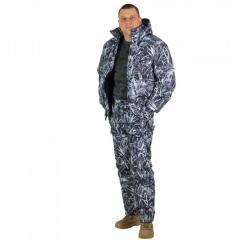 Камуфляж Зимний камыш, утепленный костюм