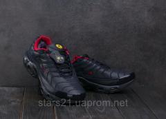 Мужские кроссовки искусственная кожа зимние синие
