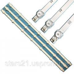 3x LED планка лампа подсветки ЖК ТВ 32 630мм LG