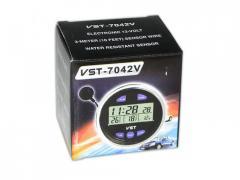 Часы 7042V +термометр
