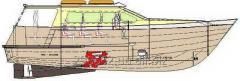 12 метровый пассажирский катер на 20 мест...