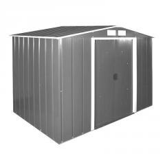 Сарай металлический ECO 320x302x196 см серый...