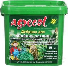 Удобрение для хвои Хортифоска Agrecol 15 кг