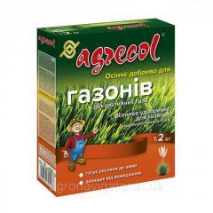 Удобрение для газонов осеннее Agrecol 1, 2 кг