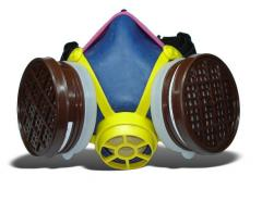 Respirator gas-protective