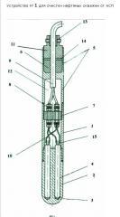 Прибор Н-1 для очистки скважин от АСПО