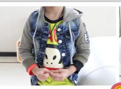 Куртка для мальчика джинсовая