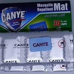 Пластины от комаров CANYE 30 ночей (набор 30...