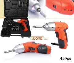 Аккумуляторная дрель cordless screwdriver Tuoye+