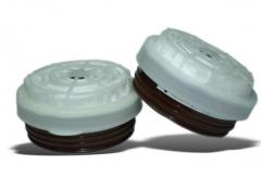 CHUCK -95 E1R1 -05 GPP for respirators. Protection against acid gases and vapours (sulphur dioxide, formic, acetic, sulfuric, nitric acid, etc.)