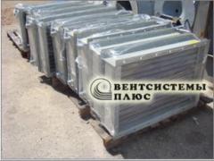 Air heaters industrial with bimetallic spiral