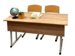 Школьная мебель двухместный комплект «ГАРАНТ»