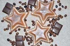 "Soap natural handwork ""Chocolate stars"