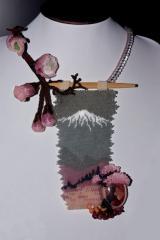 "Japanese Oriental Cherry and Fujiyama"""