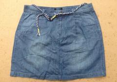 Легкая летняя джинсовая юбка Tchibo Германия 44/46