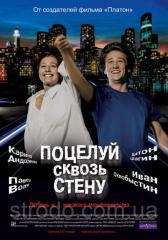 DVD-диск Поцелуй сквозь стену (К.Андоленко,