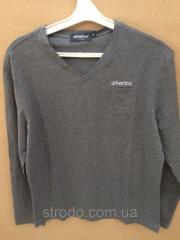 Реглан футболка темно- серая Urban Fox Размер: XL